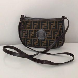Authentic Vintage Fendi Crossbody Bag